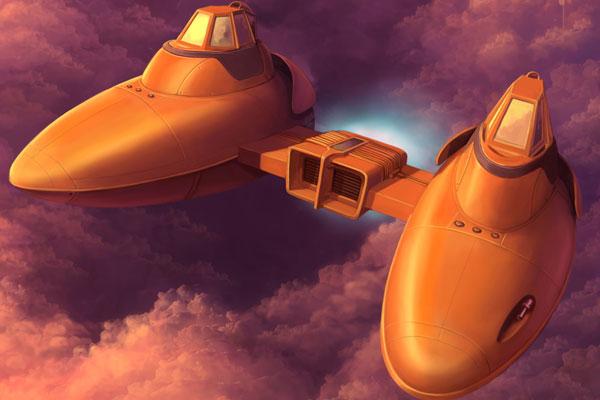 Storm IV Twin-Pod cloud car